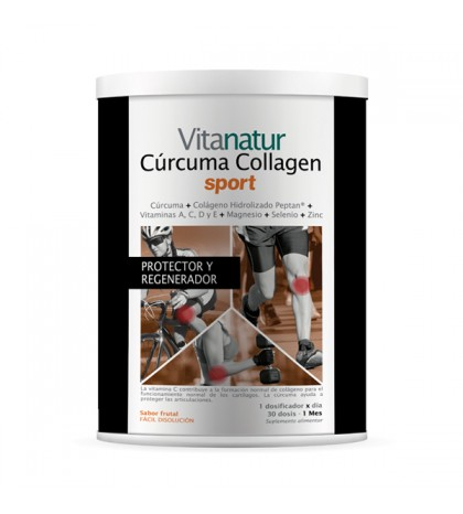 Vitanatur Curcuma Collagen Sport 360g
