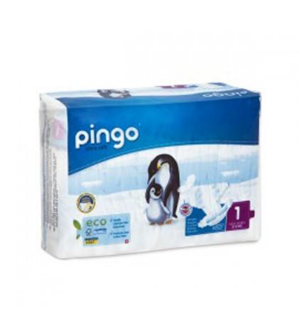 Pañales Pingo Talla 1 Ecológicos 54 unidades