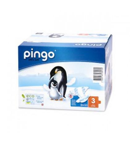 Pañales Pingo Talla 3 Ecológicos 88 unidades