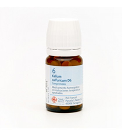 Sales Schussler nº6 Kalium Sulfuricum 80 comp