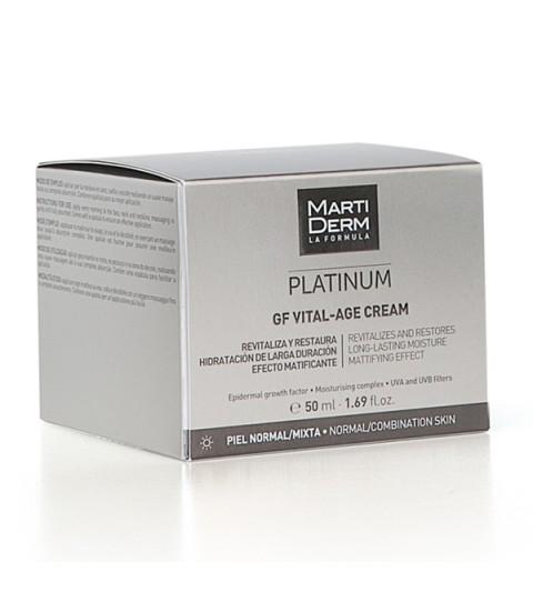 Martiderm Platinum Vital-Age Piel normal y mixta 50ml.