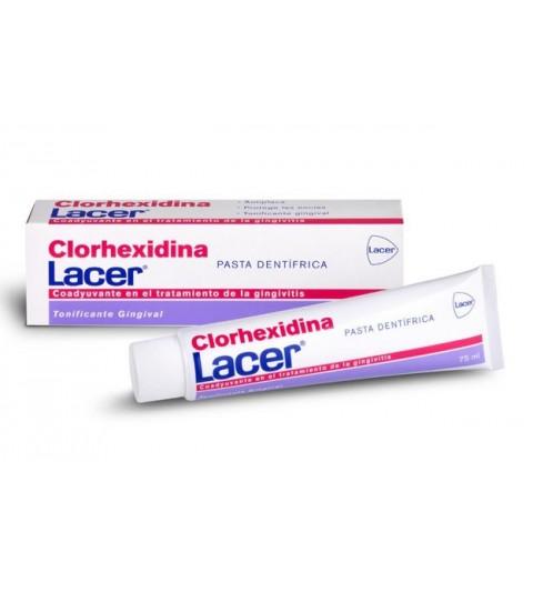 Lacer Clorhexidina Pasta Dentífrica 75ml