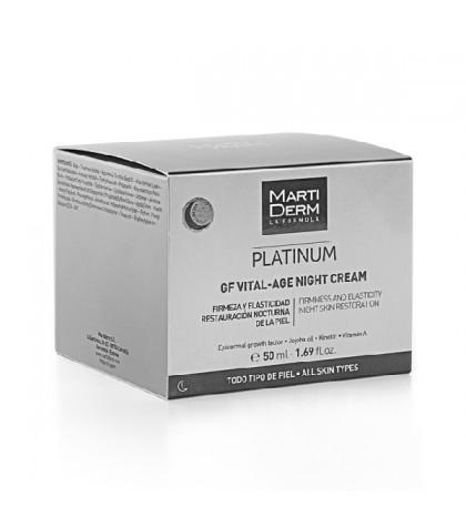 Martiderm Platinum Vital-Age Noche 50ml.