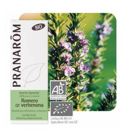 Pranarom Aceite Esencial BIO Romero qt verbenona 10ml