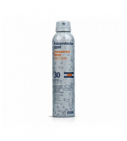 Isdin Fotoprotector SPF30 Transparent Spray Wet Skin 250ml