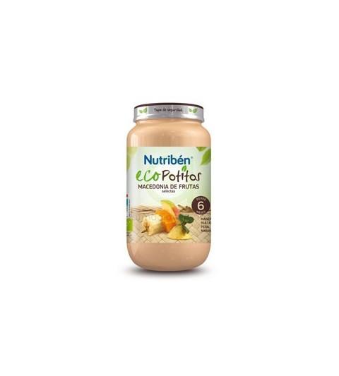 Nutribén Eco Potito Macedonia Selecta 6m 250g