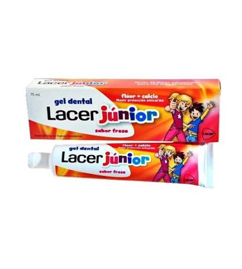 Lacer Junior Gel Dental Fresa 75ml