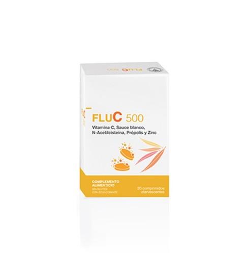 Farmaplaya Flu C 500 20 comp efervescentes