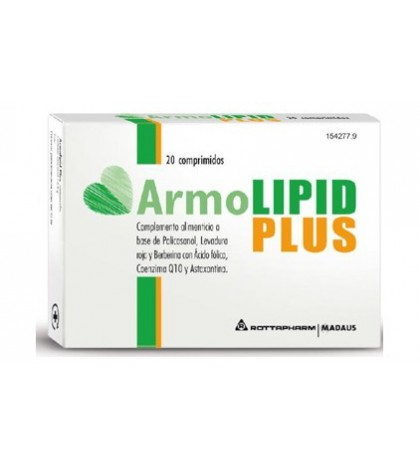 Armolipid Plus 20 Ccomprimidos