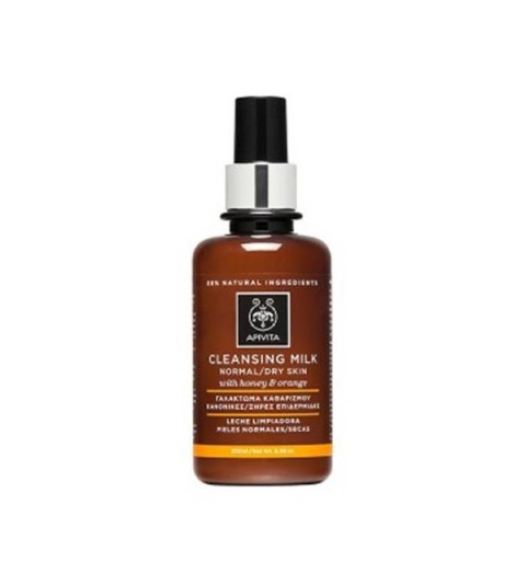 Apivita Leche limpiadora piel normal/seca 200ml