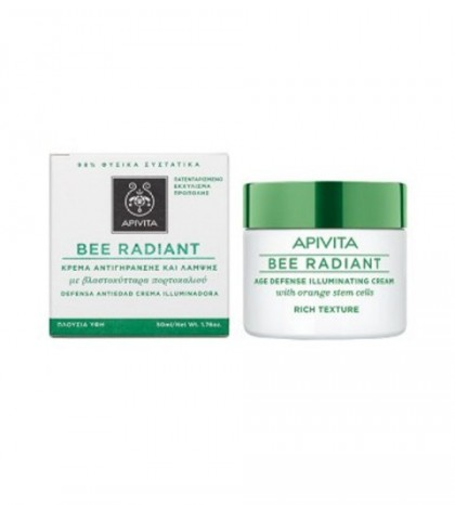 Apivita Bee Radiant textura rica 50ml