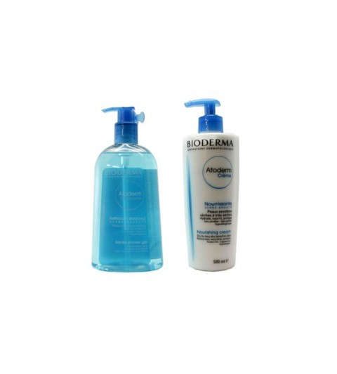 Atoderm crema 500 ml + Gel 500 ml
