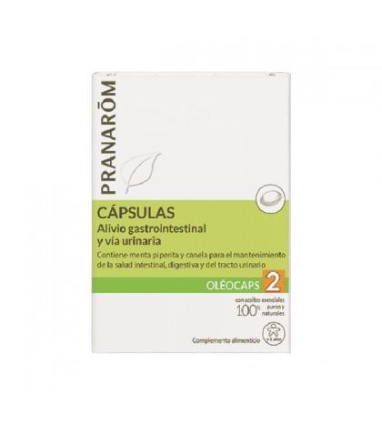 Pranarom Oleocaps N2 gastro/urinario 30 cap