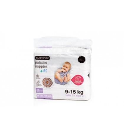 Suavinex Pañal Infantil 9-15 Kg 28ud