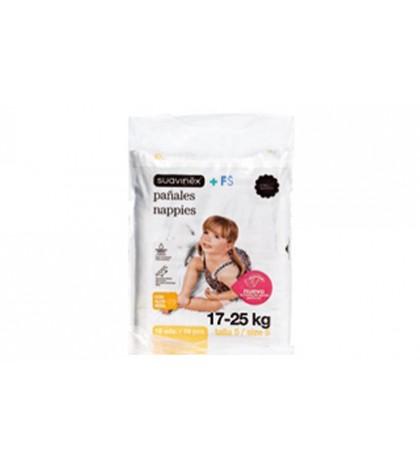 Suavinex Pañal Infantil 17-25 Kg 20ud