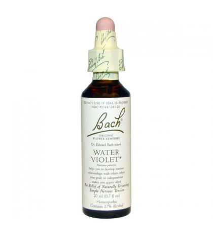 Flores de Bach Water Violet 20ml
