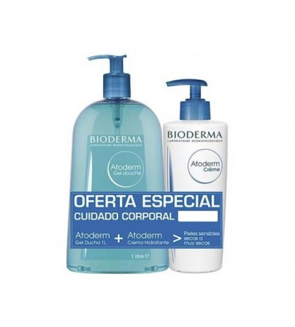 Atoderm gel 1 litro + crema 500 ml