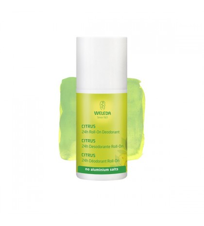Weleda desodorante roll-on Citrus 24h