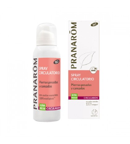Pranarom Circularom Spray Circulación Piernas BIO 100ml
