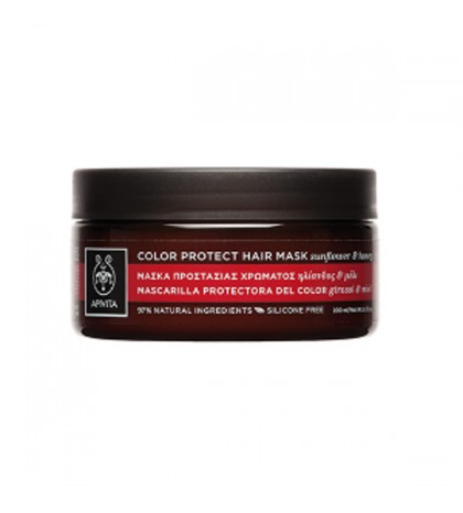Apivita Propoline Mascarilla Capilar Protectora del Color e Hidratante 200ml