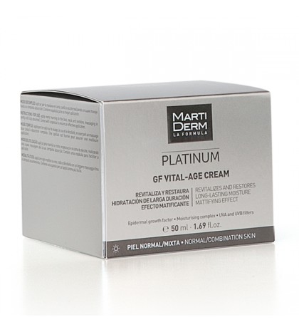 Martiderm Platinum Vital-Age Piel normal y mixta 50ml.