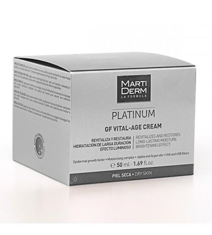 Martiderm Platinum Vital-Age Piel seca/muy seca 50ml.