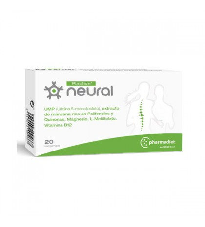 Pharmadiet Plactive Neural 20 comprimidos