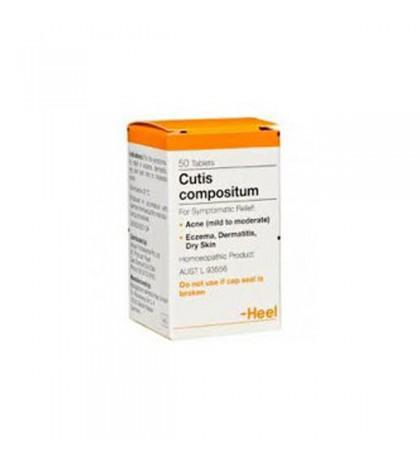 Heel Cutis Compositum 50 comprimidos