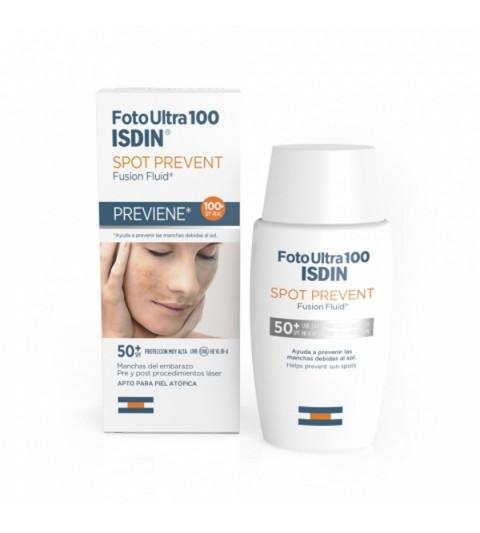 Isdin Fotoultra 100 Spot Prevent Fusion Fluid 50ml