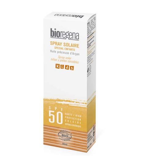 Bioregena Spray Solar niños SPF50 BIO 90ml