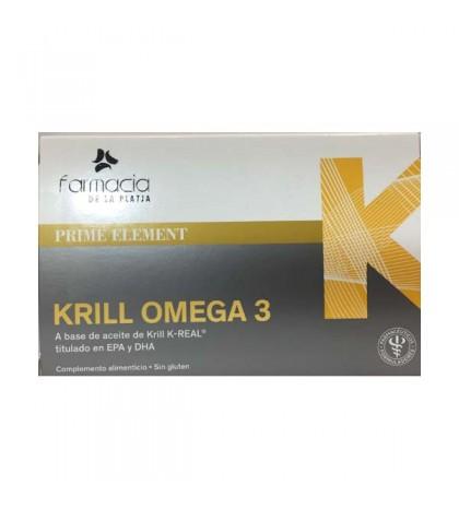 Farmaplaya Krill Omega 3 20 cápsulas