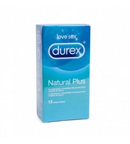 Durex Natural plus 12 ud