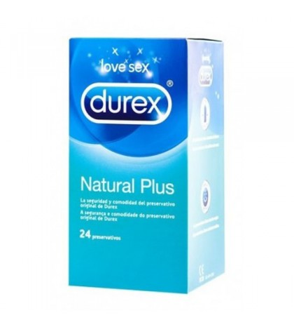 Durex Natural plus 24 ud