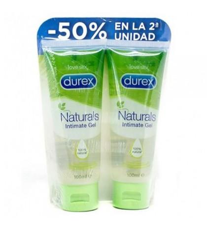 Durex Naturals Intimate Gel 10ml Duplo