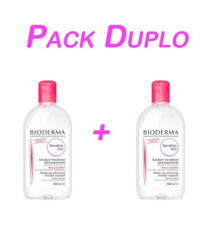 Bioderma Sensibio H2O Pack 500ml +250ml