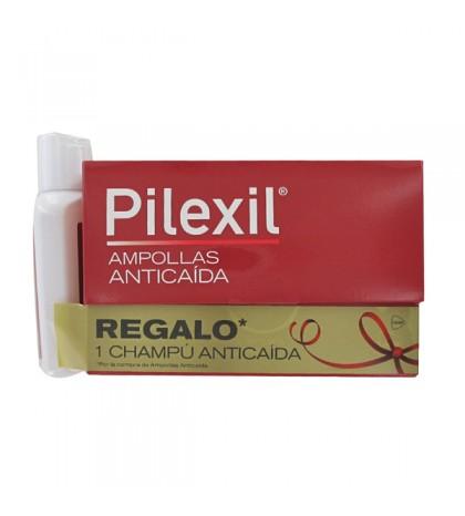 Pilexil Anticaída 15 ampollas + Champu 100ml
