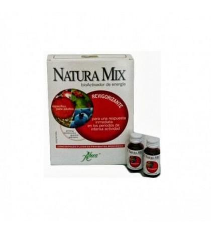 Aboca Natura Mix Revigorizante 10 frascos 15g
