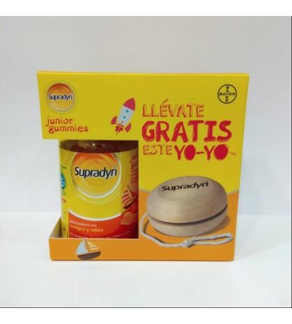 Supradyn Junior gummies vitaminas para niños 30 gominolas de Bayer con regalo de un Yoyo