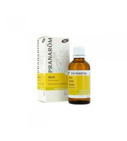 Pranarom Aceite Vegetal Ricino BIO ECO 50ml para fortalecer el cabello y las uñas