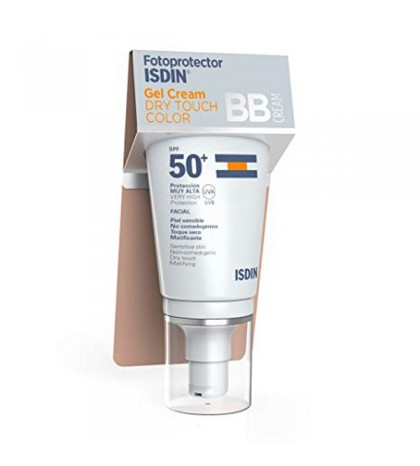 Isdin Fotoprotector Gel Cream Dry Touch Color SPF50+ 50ml