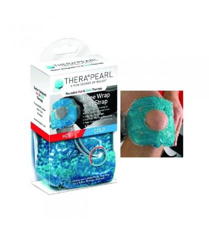 Thera Pearl Soporte de Rodilla terapia calor y frío congelador y microondas