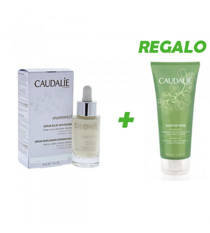 Caudalie Vinoperfect sérum anti-manchas 30ml + GEL de regalo