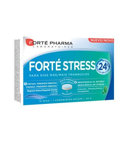 Forté Pharma Forté Stress 24h 15 comprimidos bicapa para fatiga, estrés