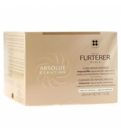 Rene Furterer Absolue Keratine mascarilla regeneradora intensa 200ml