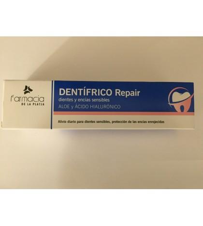 Farmaplaya dentífrico repair dientes y encías sensibles aloe y hialurónico 100ml