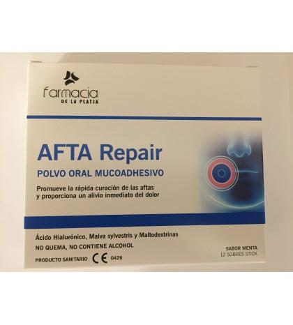 Farmaplaya Afta Repair polvo oral mucoadhesivo 12 sobres curación aftas