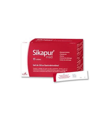 Vitae Sikapur med 15 sobres gel silice gastrointestinal vomitos diarreas
