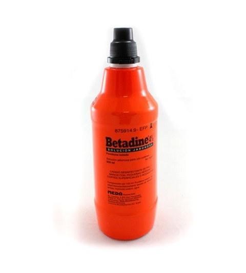 Betadine Jabonoso 40mg/ml solución cutánea