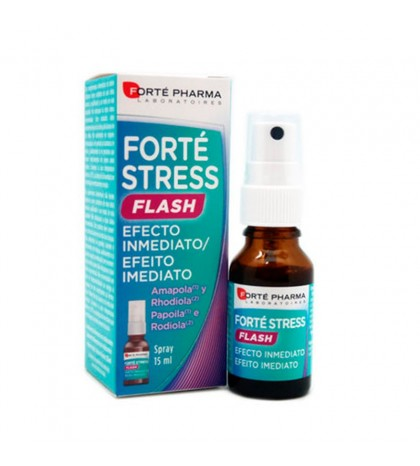 Forté Pharma Forté Stress Flash spray 15ml efecto inmediato relajante en situaciones de estrés
