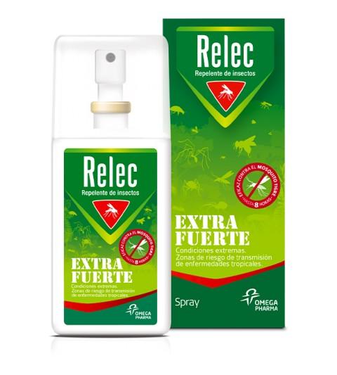 Relec Extra Fuerte 75ml spray repelente de insectos